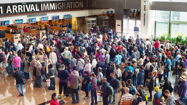 These Airports Have the Longest Immigration and Customs Lines During Thanksgiving