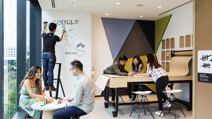 working for google singapore