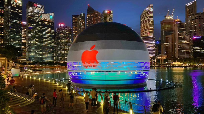 working in apple singapore