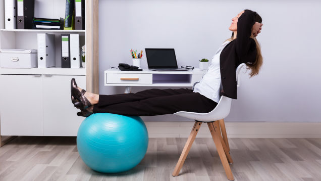How to Turn Your Home Office Into a Workday Gym