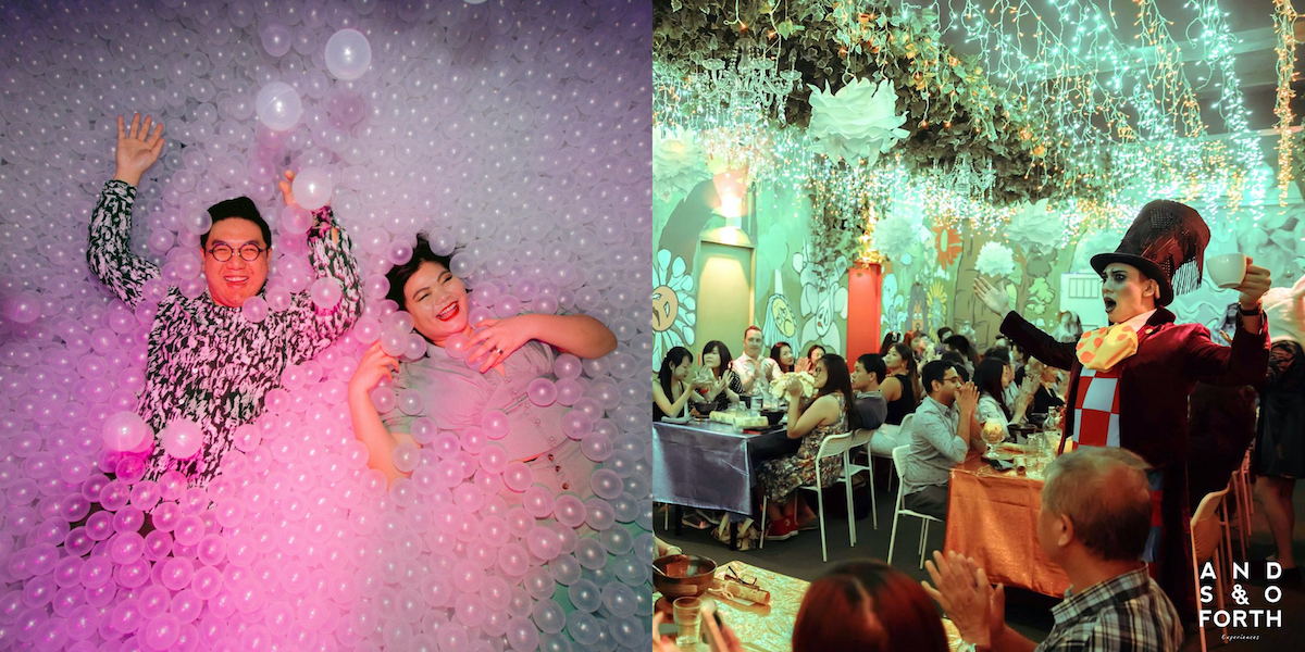 F&B Meets Entertainment: Here's The Couple Who Brought Immersive Theatrical Dining To S'pore