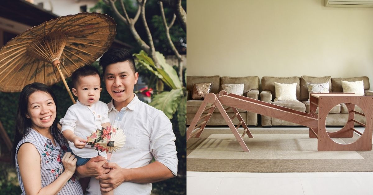 This M'sian Couple Quit Their Jobs At PwC To Handmake Wooden Playthings For Toddlers