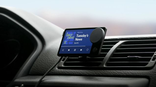 How to Get Spotify's New Voice-Activated Car Thing for 'Free'