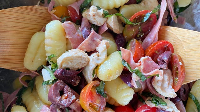 You Should Make Pasta Salad With Store-Bought Gnocchi